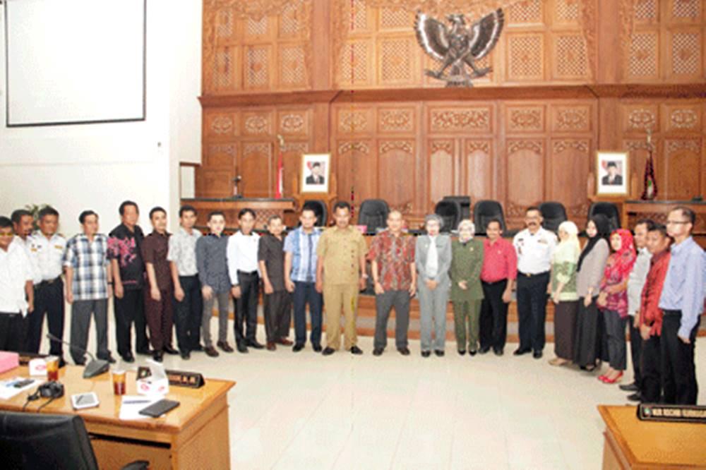 Pansus Perhubungan DPRD Serang Bertamu ke Surakarta