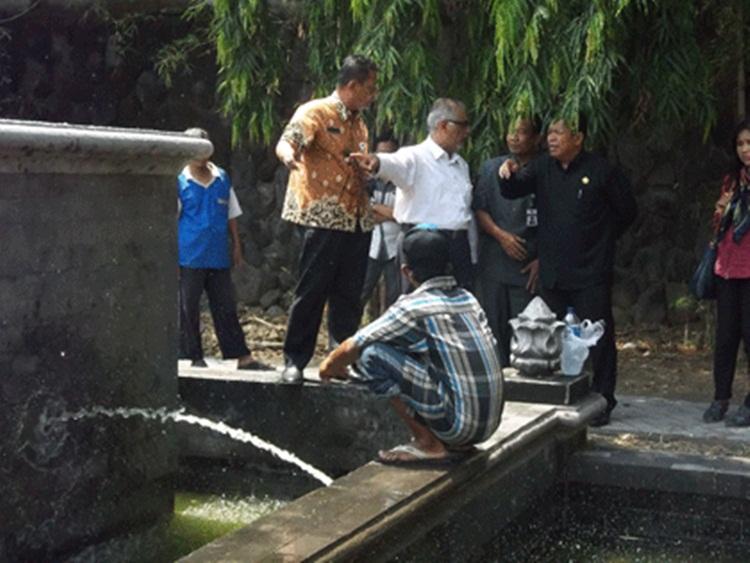 Sayangkan Kran Air Mancur Tak Sepadan Dengan Patung