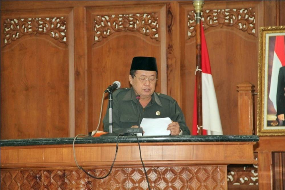 Fraksi PGS Terkesan Normatif Sikapi Pengantar Nota Keuangan RAPBD 2014