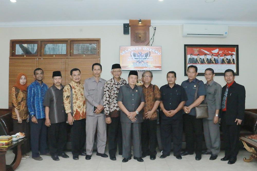 Kunjungan Kerja DPRD Kabupaten Kulonprogo