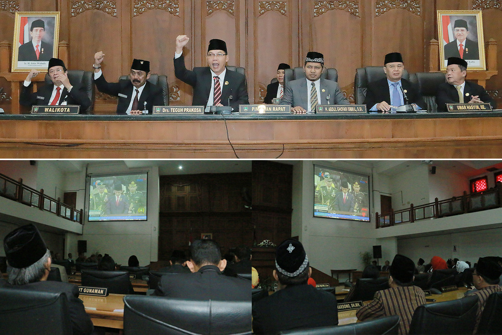 Rapat Paripurna Istimewa DPRD Kota Surakarta