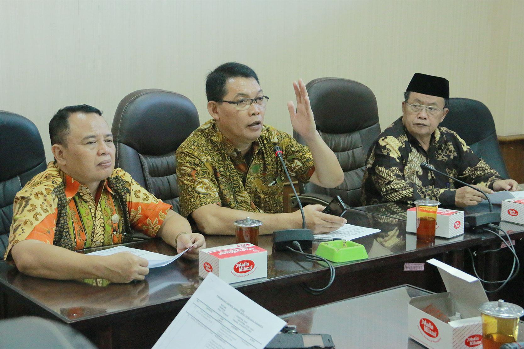 Rapat Banmus (Badan Musyawarah) DPRD Kota Surakarta