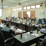 SURAKARTA - Selasa 02/08/2016, Kondisi Ruangan Rapat Badan Musyawarah DPRD Kota Surakarta di Ruangan Kepanitiaan DPRD Kota Surakarta.
