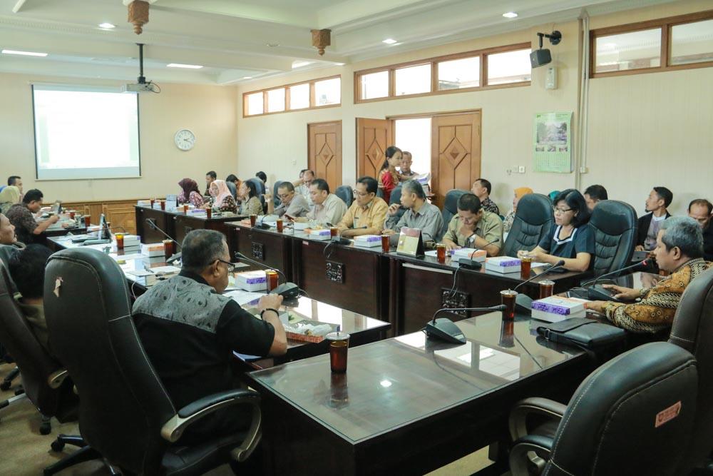 Rapat Badan Musyawarah DPRD Kota Surakarta