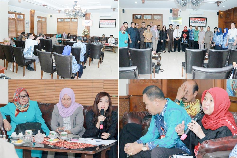 Penerimaan Tamu Kunjungan Kerja DPRD Kota Banjarbaru