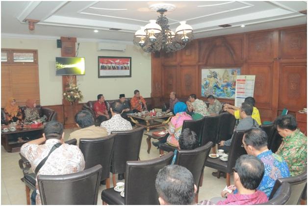 Penerimaan Tamu Kunjungan Kerja/Study Banding DPRD Kabupaten Jombang
