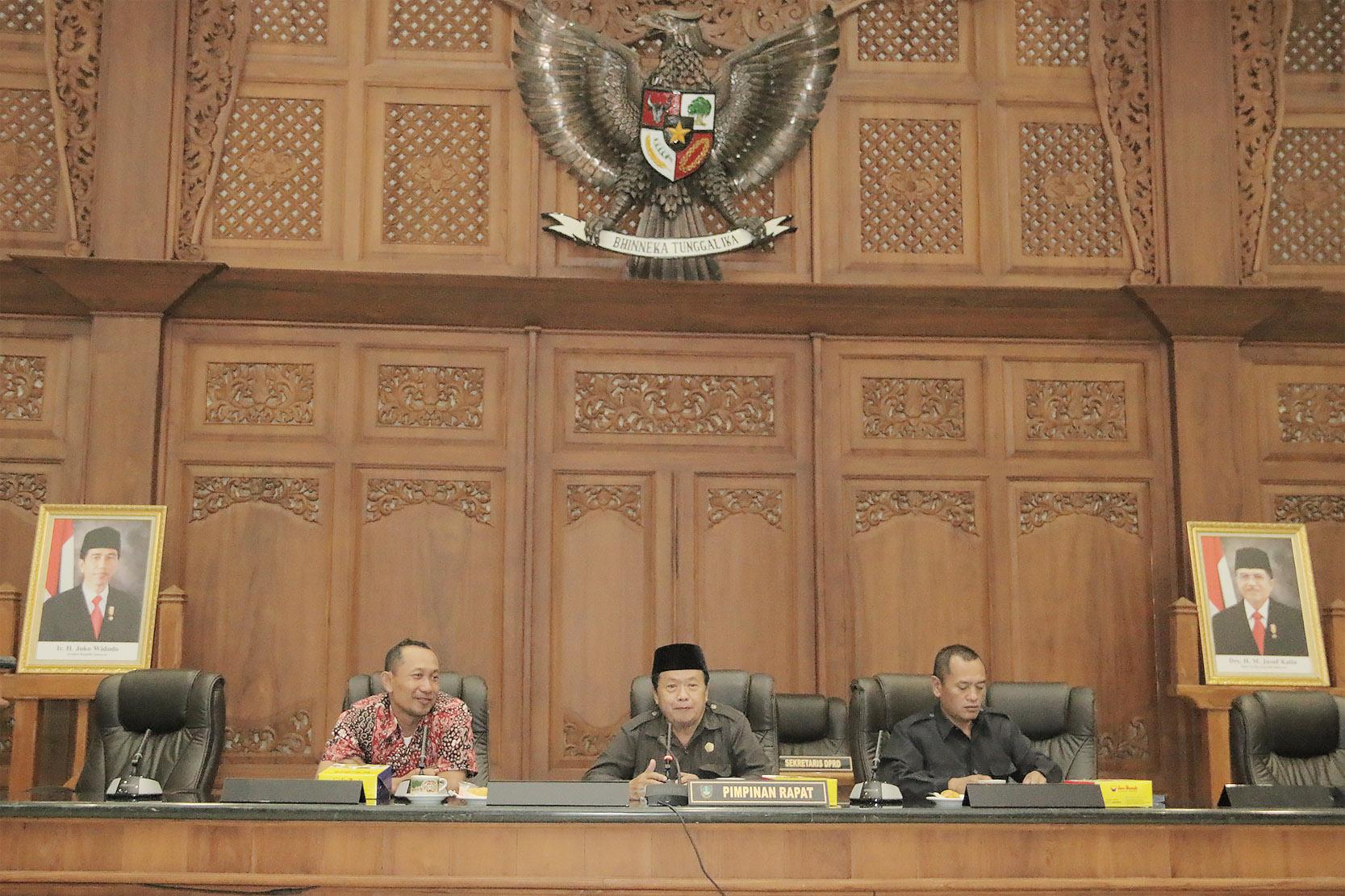 Penerimaan tamu studi banding Kabupaten Kudus dan Kabupaten Semarang terkait tenaga Outsourcing dan Perekonomian