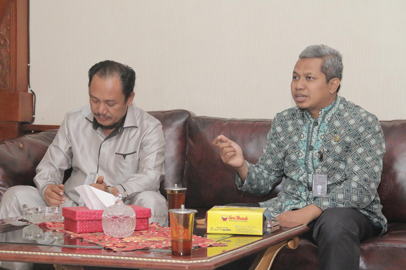 Kunjungan Kerja/Studi Banding DPRD Kabupaten Demak