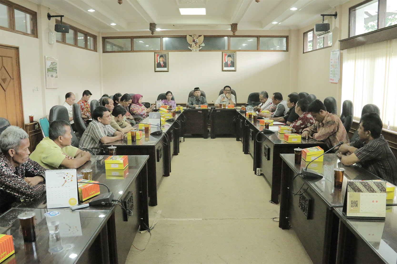 Penerimaan Tamu Audiensi dengan Forum Komunikasi Honorer K2 Penjaga Sekolah (FKHK2PS)