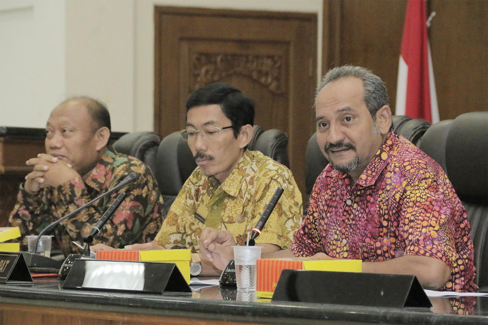 Public Hearing Persetujuan DPRD terkait Sister City