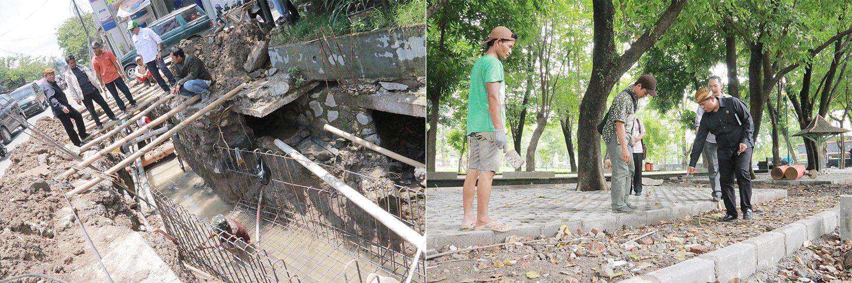 Sidak Komisi II DPRD Kota Surakarta Terkait Penataan Kawasan Kyai Mojo & Taman Banjarsari