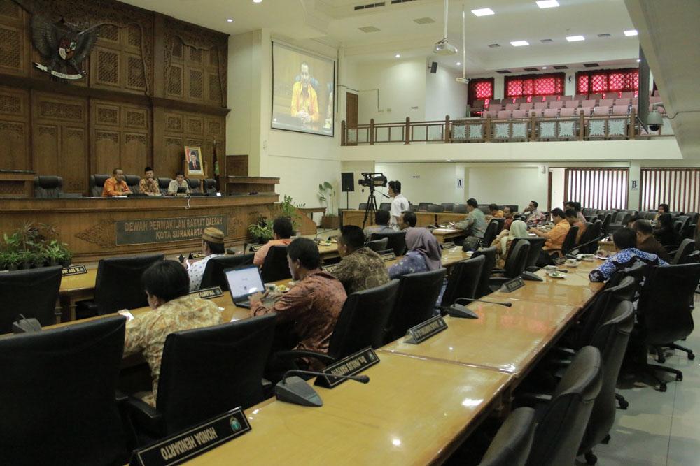 Kunjungan Kerja  DPRD Kabupaten Indramayu