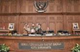 Jumat, 24 Maret 2017 Rapat Paripurna DPRD Kota Surakarta