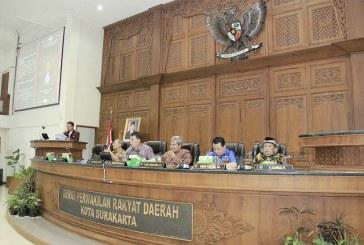Rapat Paripurna Pandangan Umum Fraksi tentang Rancangan Raperda Penyertaan Modal