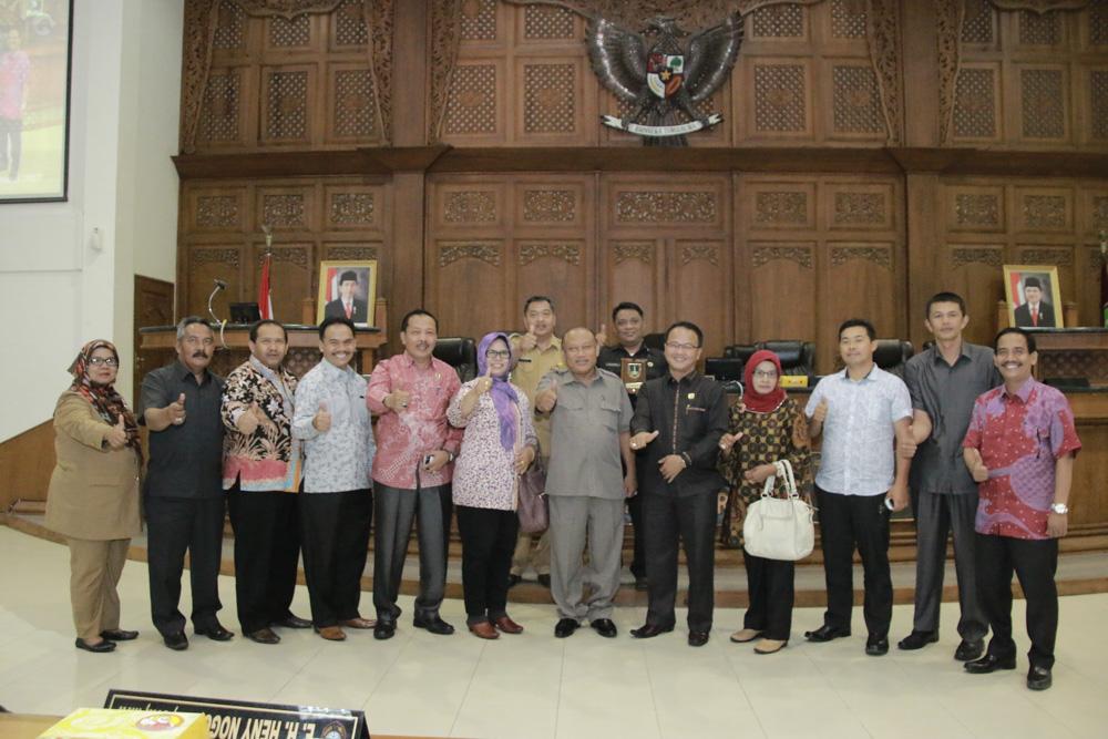 Penerimaan Tamu Studi Banding DPRD Kabupaten Solok