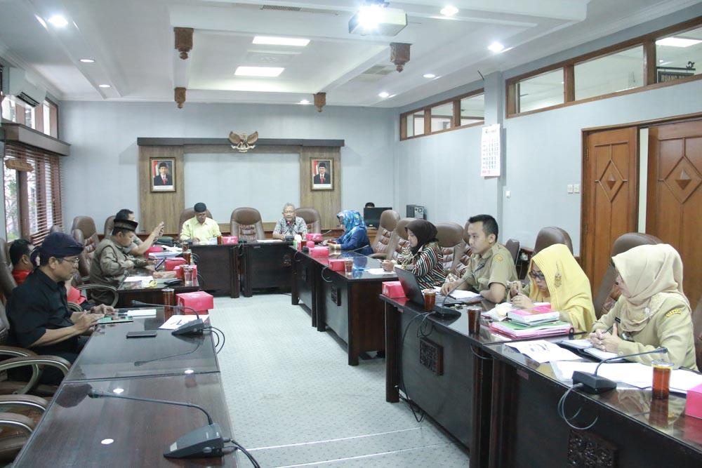 Rapat Internal Badan Pembentukan Peraturan Daerah DPRD Kota Surakarta