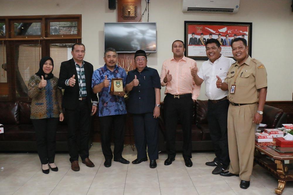 Penerimaan Tamu Kunjungan Kerja DPRD Kota Tanjungbalai