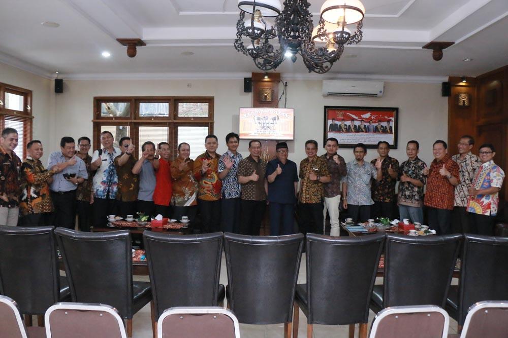 Penerimaan Tamu Kunjungan Kerja / Studi Banding DPRD Kota Bandung