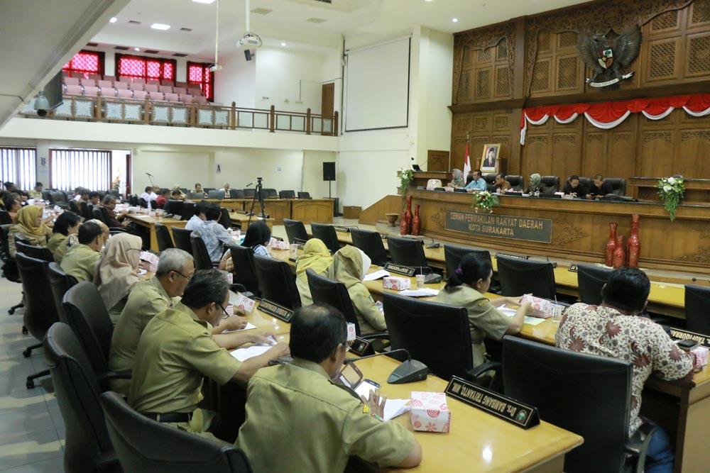 Rapat Kerja Pansus tentang Bantuan Hukum bagi Warga Miskin