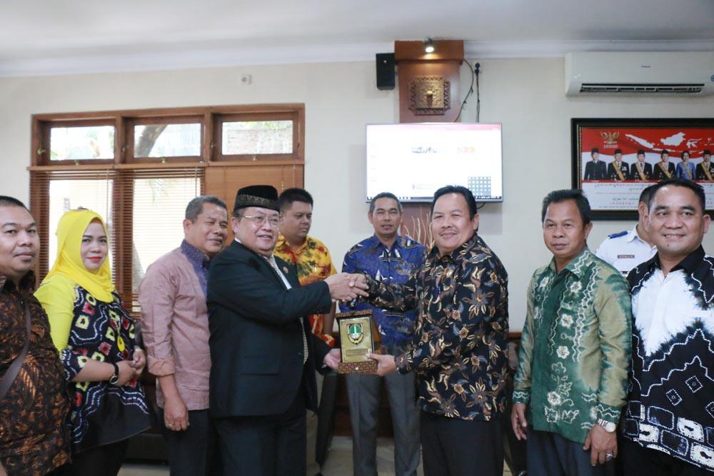 Kunjungan kerja dari DPRD Kabupaten Balangan