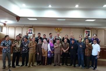 Kunjungan kerja dari DPRD Kota Bandung