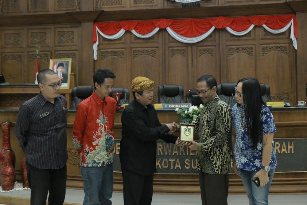 Penerimaan Kunjungan Kerja DPRD Kab. Bogor