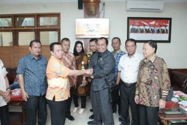 Penerimaan Tamu Kunjungan Kerja DPRD Kabupaten Langkat