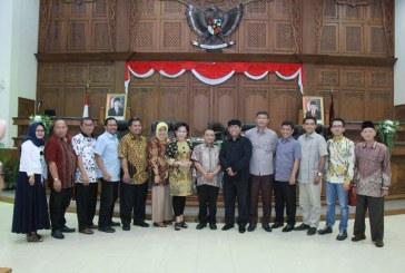 Penerimaan Tamu Kunjungan Kerja dari DPRD Kab Nganjuk, Blitar dan DPRD Provinsi Jawa Timur