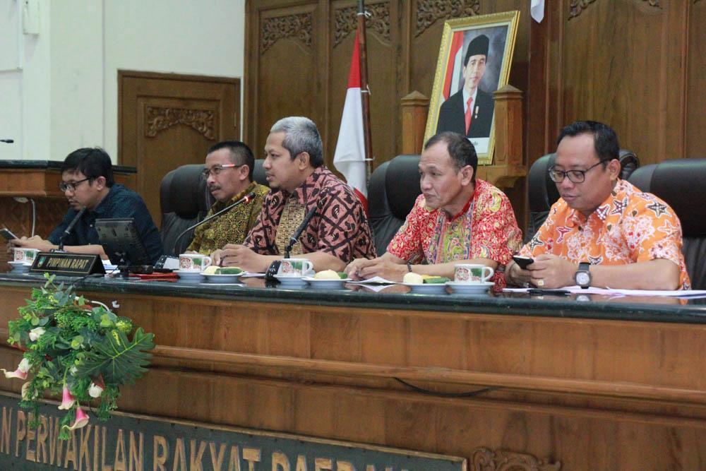 Penerimaan Tamu Kunjungan Kerja dari Banmus DPRD Kota Semarang dan Kabupaten Kuningan, serta DPRD Kabupaten Pemalang dan Sidoarjo