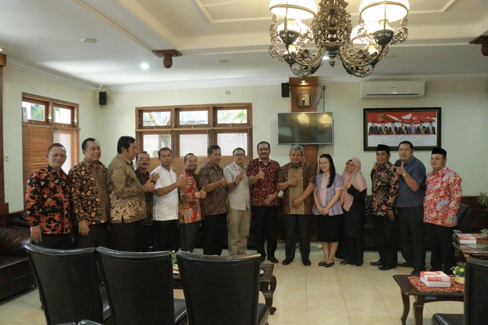 Penerimaan Tamu Kunjungan Kerja dari DPRD Kabupaten Bekasi