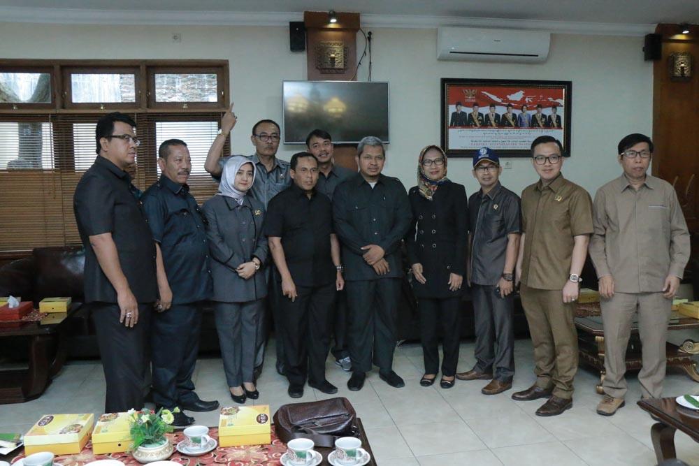 Penerimaan Tamu Kunjungan Kerja dari DPRD Kabupaten Serang