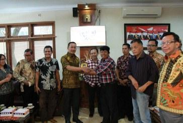 Penerimaan Tamu Kunjungan kerja dari DPRD Kota Semarang