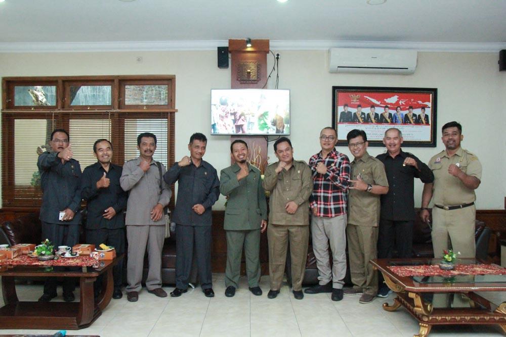 Penerimaan Tamu Kunjungan kerja dari DPRD Kab.Boyolali