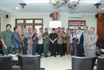 Penerimaan Tamu Kunjungan Kerja dari DPRD Kabupaten Cilacap