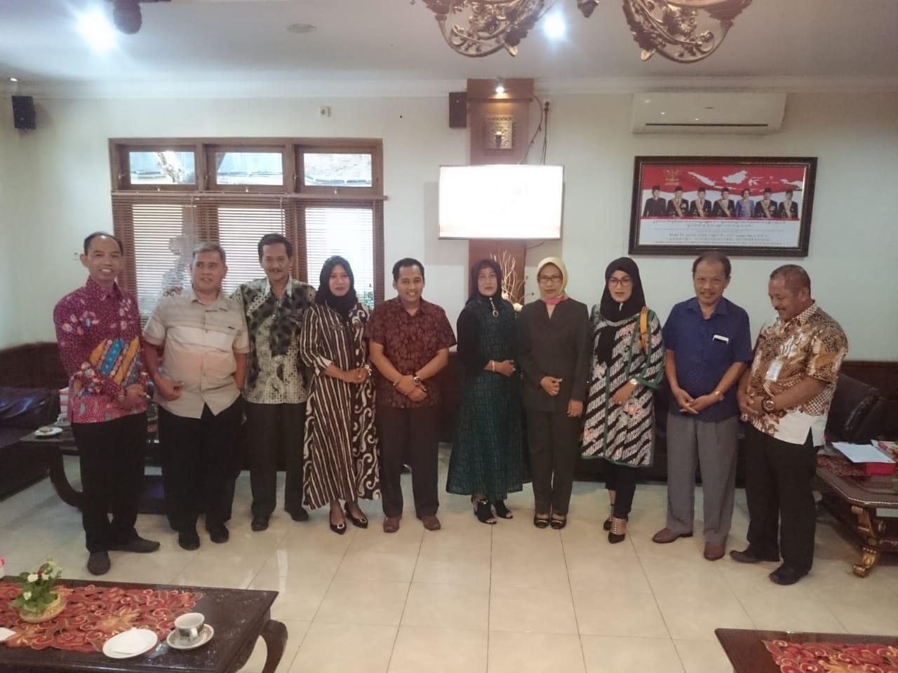 Penerimaan Tamu Kunjungan kerja dari DPRD Kab.Mojokerto