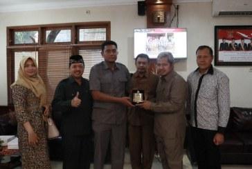 Penerimaan Tamu Kunjungan Kerja dari DPRD Kabupaten Nganjuk