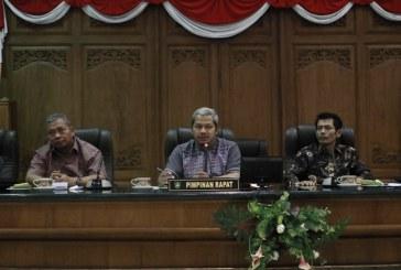 Penerimaan Tamu Kunjungan Kerja/Studi Banding dari DPRD Pasuruan dan Pansus  DPRD Kab Nganjuk