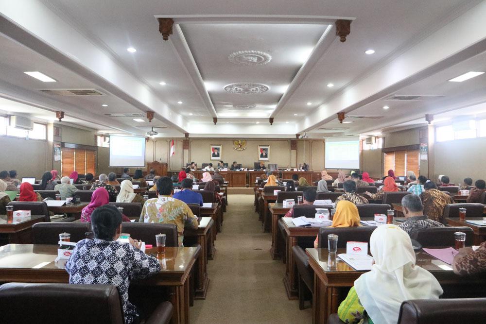 Rapat Kerja Pansus LKPJ Walikota Surakarta (Hari Pertama)