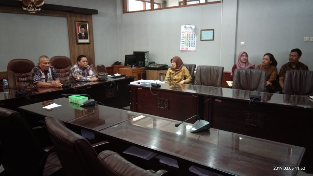 Penerimaan Study Tiru dari Sekretariat DPRD Kabupaten Lamongan