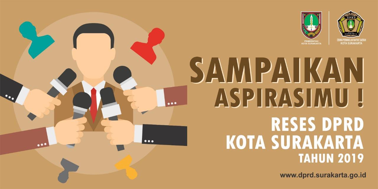 Jadwal Reses Masa Sidang I Tahun 2019 DPRD Kota Surakarta
