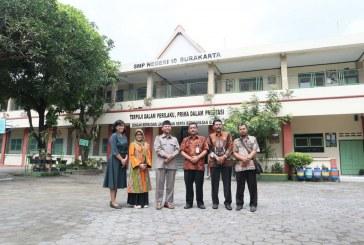 Sidak Komisi IV  pada Ujian Nasional Berbasis Komputer (UNBK) tingkat SMP di Surakarta