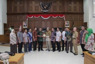 Penerimaan Tamu Kunjungan Kerja DPRD Kota Depok dan Tegal