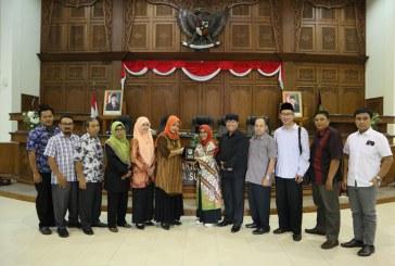 Penerimaan Tamu Kunjungan Kerja DPRD Kabupaten Tuban, Sleman, Sidoarjo dan DPRD Kota Semarang