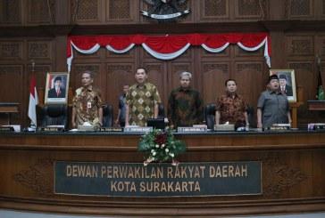 Rapat Paripurna II DPRD Kota Surakarta