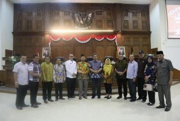Penerimaan Kunjungan Kerja DPRD Kabupaten Jepara