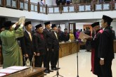 Galeri Peresmian Pengangkatan Pimpinan DPRD Kota Surakarta Masa Jabatan 2019-2024