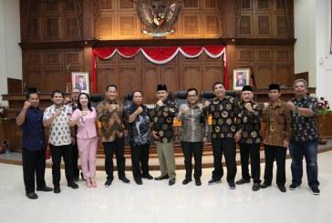Penerimaan Tamu Kunjungan Kerja DPRD Kabupaten Nganjuk dan Tulungangung