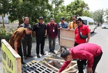 Sidak Komisi II DPRD Surakarta ke Proyek Drainase dan Jembatan