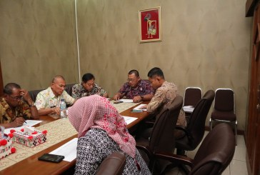 Menyambut Awal Tahun, Pimpinan dan Bapemperda DPRD Surakarta melakukan Rapat Penyusunan Rencana Kerja Tahun 2020