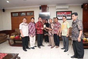 Penerimaan Tamu Kunjungan Kerja DPRD  Prov. Jawa Timur dan Kota Probolinggo